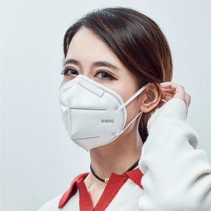 n95 ერთჯერადი ნიღაბი smog- ის თავიდან ასაცილებლად, მტვრის თავიდან ასაცილებლად და თავისუფლად სუნთქვა