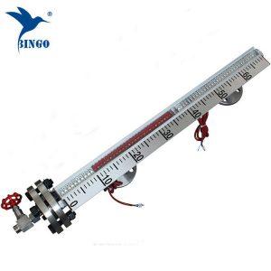 წყლის ნავთობის თხევადი სატანკო დონის მაჩვენებელი მაგნიტური მინის float დონის მაჩვენებელი