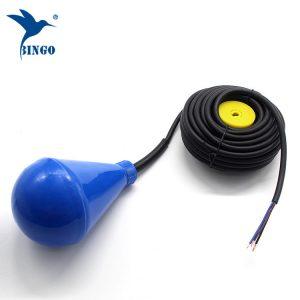 ქვემელის ფორმის წყლის სატანკო დონის float შეცვლა PVC კაბელით